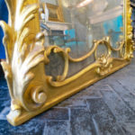 Italian Baroque Style Over Mantel Mirror