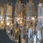 Vintage Crystal Murano Chandelier