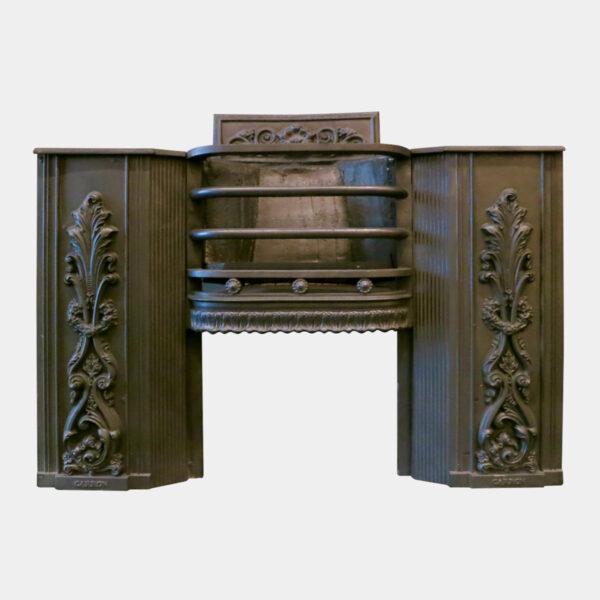 Antique Georgian Cast Iron Hob Grate