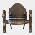 A 19th Century Rococo Style Fire Grate