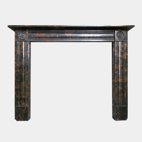 Regency Style Marble Fireplace Mantel