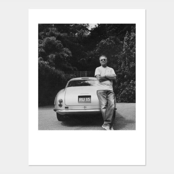 Eric with his classic Ferrari