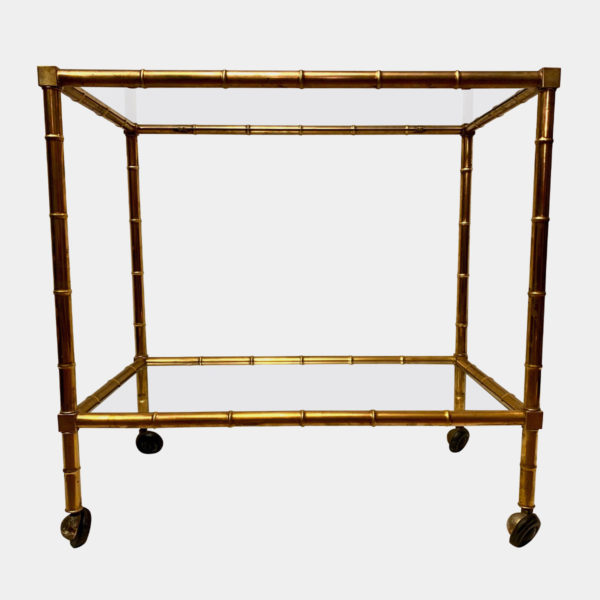 Bamboo Drinks Trolley
